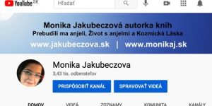 YouTube Monika Jakubeczova